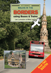 Walks in the Borders using Buses & Trains South