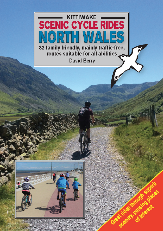 Scenic Cycle Rides in North Wales, Kittiwake Books